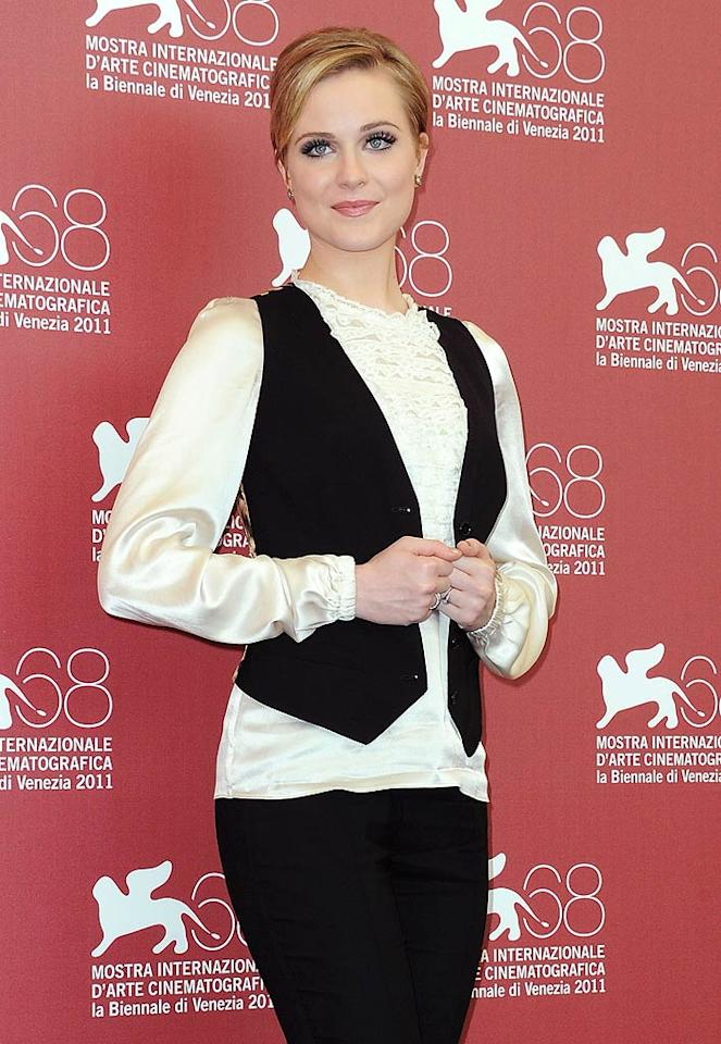 "Evan Rachel Wood (""True Blood"") turns 24. Dominique Charriau/<a href=""http://www.wireimage.com"" target=""new"">WireImage.com</a> - September 2, 2011"