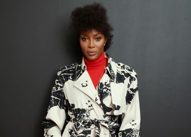 Naomi Campbell Offers Rare Look At Her Natural Hair With Cornrows