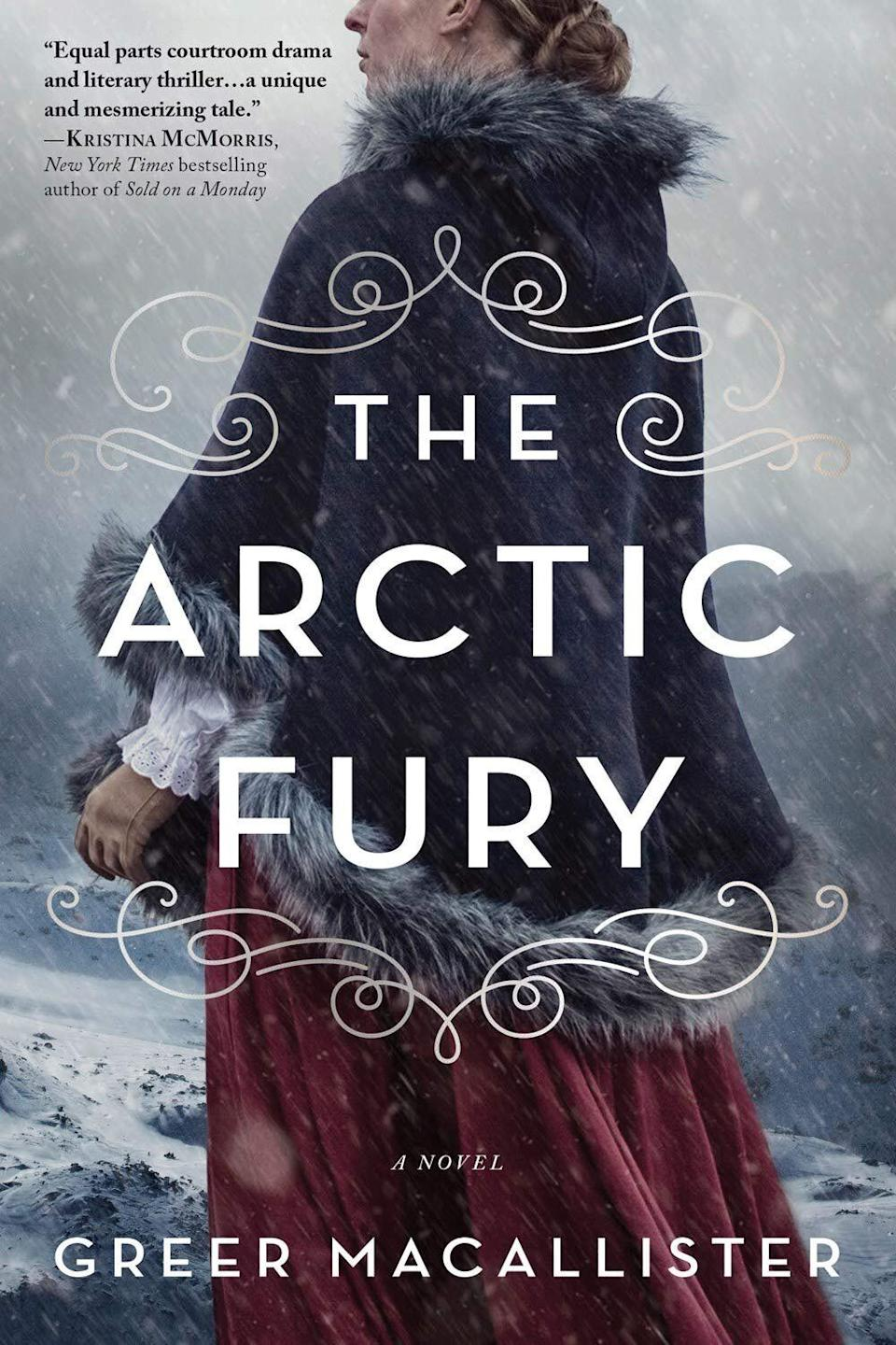 """""""The Arctic Fury"""" is another book this month that uses a real historical event as a springboard for mystery and adventure. Eccentric Lady Jane Franklin proposes a radical strategy for finding her husband's lost expedition into the Arctic during the 1850s: Send a crew of women to find the ship, led by adventurer Virginia Reeve. But when only five women return, Virginia faces charges of murder and endless questions about what happened out in the cold. Read more about it on <a href=""""https://www.goodreads.com/book/show/51684880-the-arctic-fury"""">Goodreads</a>, and grab a copy on <a href=""""https://amzn.to/33yyYHG"""">Amazon</a> or <a href=""""https://fave.co/2Vqm2Pv"""">Bookshop</a>.<br /><br /><i>Expected release date:</i> <i>December 1</i>"""