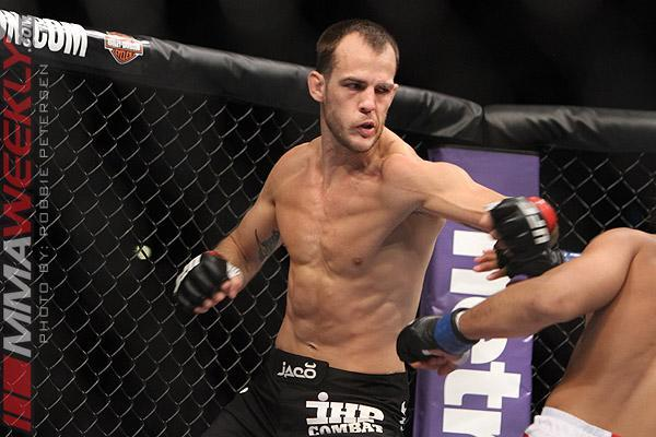 Cole Miller is healing a broken hand but still wants to fight Conor McGregor