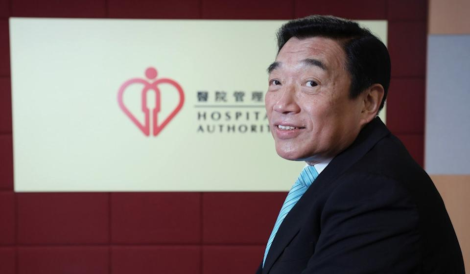 Hospital Authority chairman Henry Fan. Photo: K. Y. Cheng