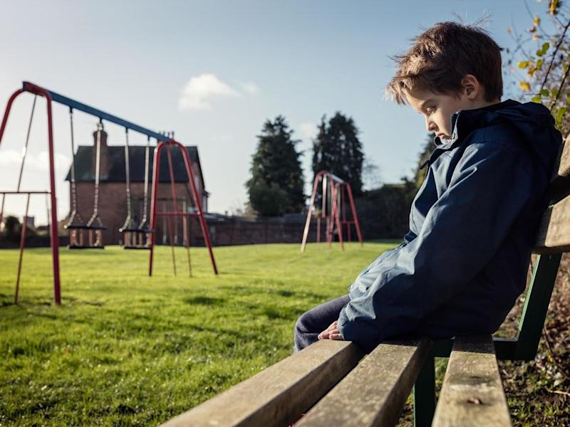The report comes amid reports from teachers across the country that children as young as four were suffering from mental health problems such as panic attacks, eating disorders, anxiety and depression: Getty