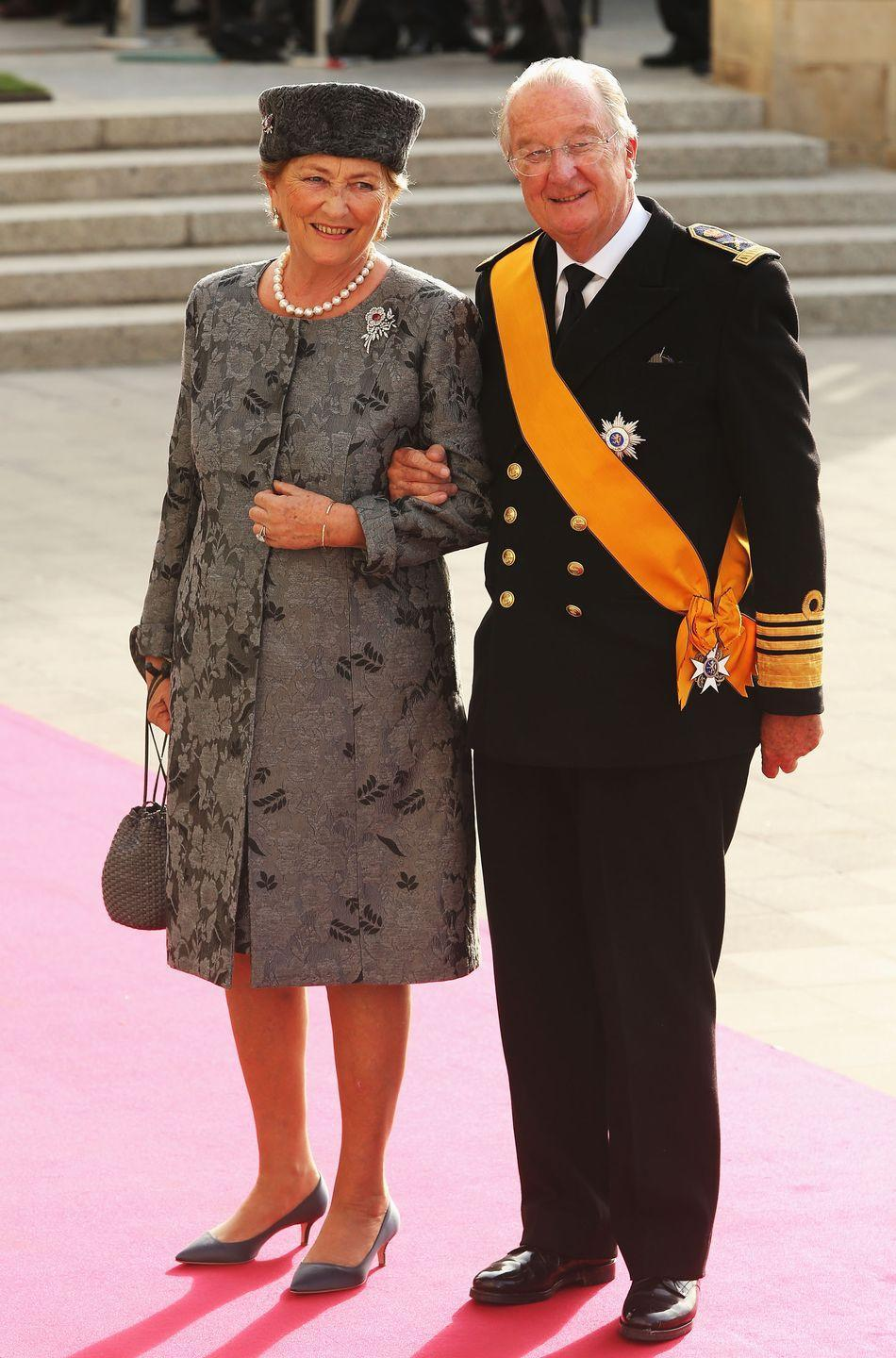 "<p>It's apparently an 'open secret' (though a paternity test has never been done) that Belgian sculptor Delphine Boël is the daughter of King Albert II of Belgium. The daughter is said to be the result of an affair the King had with Baroness Sybille de Selys Longchamps. </p><p>Delphine says her mother didn't tell her who her father was until she was 18 years old, and she's been trying to get in contact ever since. She's currently in court, trying to prove that he's her father. As of May 2019, King Albert II <a href=""https://www.theguardian.com/world/2019/may/29/former-belgian-king-albert-ii-agrees-to-dna-test-in-paternity-case-delphine-boel"" rel=""nofollow noopener"" target=""_blank"" data-ylk=""slk:has agreed to submit a DNA test."" class=""link rapid-noclick-resp"">has agreed to submit a DNA test.</a></p>"