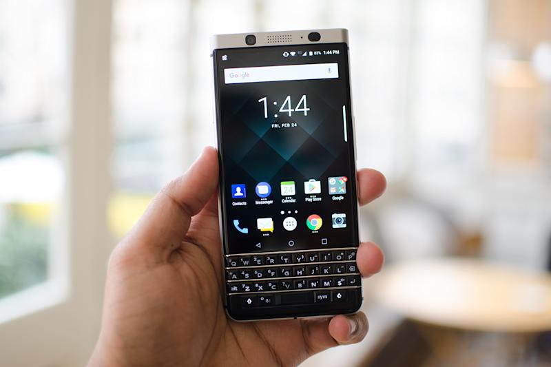 The BlackBerry KEYone is available to reserve starting May 18. (Digital Trends)