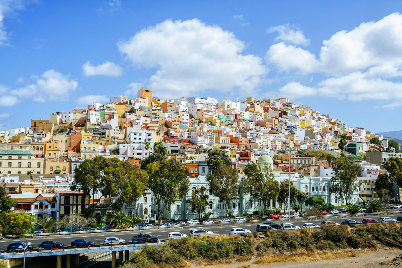 """Go star-spotting in the Canary Islands region, which boasts incredibly clear skies, while in the day you can explore lava lakes and volcanic views. If you're visiting La Palma, stay at the £43-a-night traditional house <a href=""""https://www.i-escape.com/casa-los-geranios""""><strong>Casa Los Geranois</strong></a>or try B&B<a href=""""https://www.i-escape.com/olio-la-palma""""><strong>Olio la Palma</strong></a><em> </em>for a still-reasonable £77 a night.<em> </em>There's also crimson colonial mansion<a href=""""https://www.i-escape.com/finca-las-longueras""""><strong>Finca las Longueras</strong></a> –the oldest in the Canaries- in Gran Canaria, offering rooms for £94 a night. <em>[Photo: Getty]</em>"""