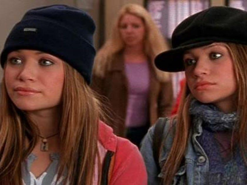 """Mary-Kate and Ashley Olsen in """"Getting There."""""""