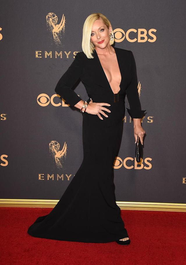 <p>Jane Krakowski attends the 69th Annual Primetime Emmy Awards on September 17, 2017.<br> (Photo: Getty Images) </p>