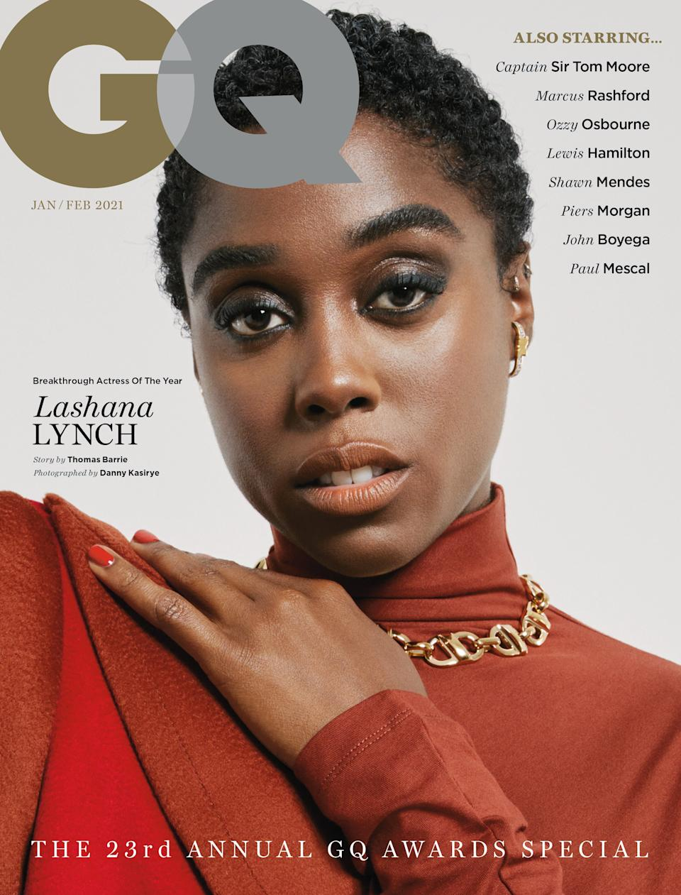 <p>Lynch in GQ</p>Danny Kasiyre/GQ Magazine