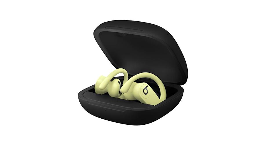 <p>The <span>Powerbeats Pro Totally Wireless Earphones</span> ($250) are great for all types of training and fitness levels. They fit well in the ear (so you don't have to worry about losing them), they're sweat and water resistant, adjustable, and come with four different ear tip size options.</p>