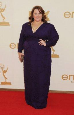 Melissa McCarthy is launching a plus-size clothing line. Photo by Getty Images