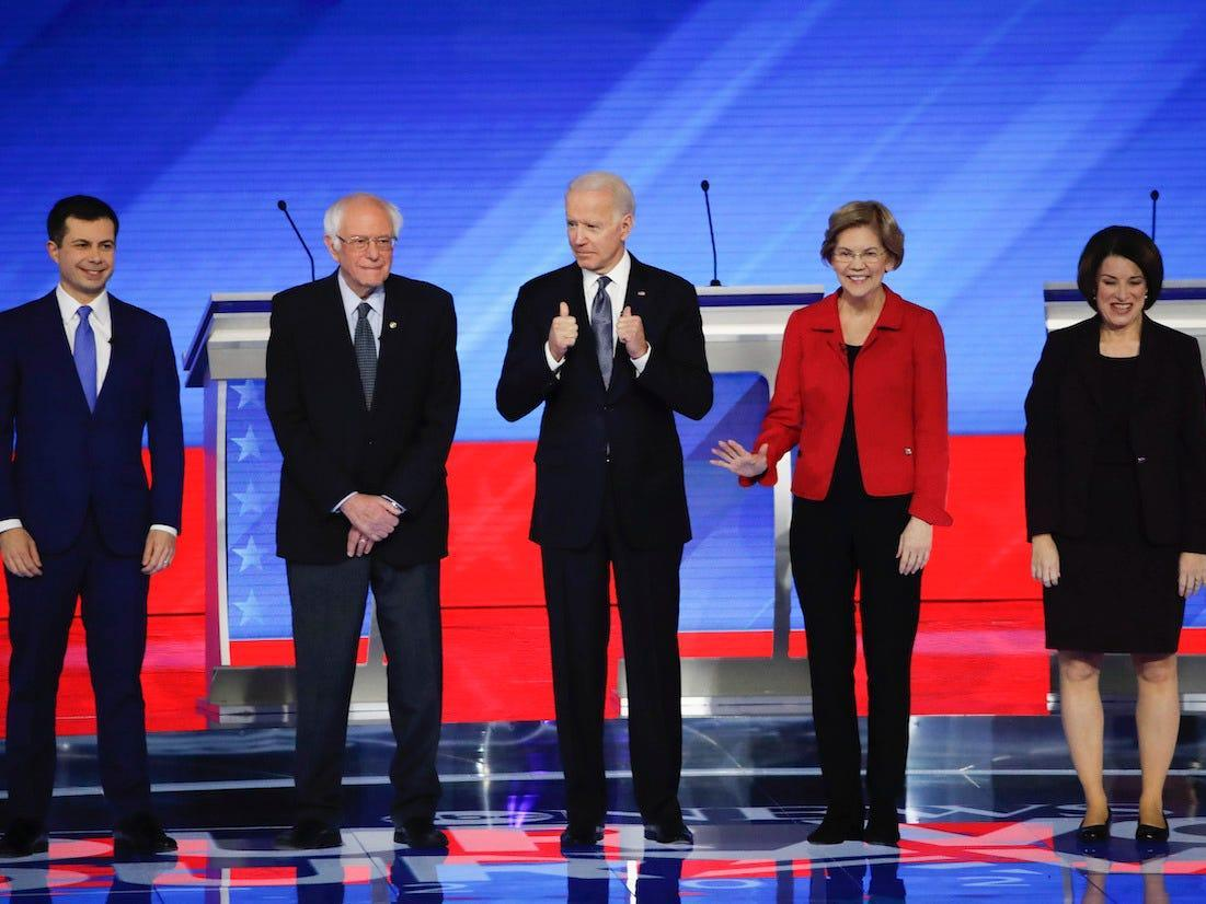 POWER RANKING: Here's who has the best chance of becoming the 2020 Democratic presidential nominee