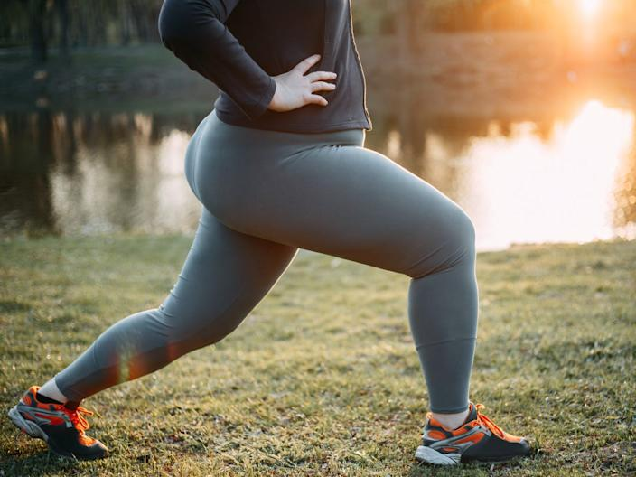 Exercise can help reduce visceral fat.
