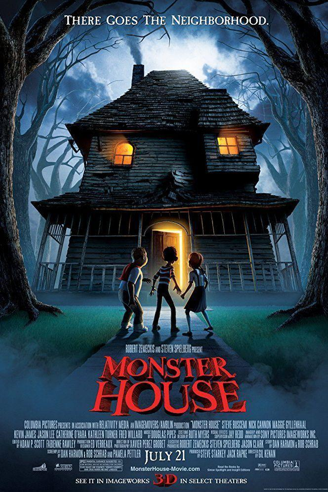 """<p><a class=""""link rapid-noclick-resp"""" href=""""https://www.amazon.com/Monster-House-Steve-Buscemi/dp/B000K3QJRU?tag=syn-yahoo-20&ascsubtag=%5Bartid%7C10070.g.3104%5Bsrc%7Cyahoo-us"""" rel=""""nofollow noopener"""" target=""""_blank"""" data-ylk=""""slk:STREAM ON AMAZON"""">STREAM ON AMAZON</a></p><p>Three kids believe that the house next door is actually an evil, living creature — but no adults believe them. As Halloween approaches, the trio come up with a way to defeat the terrifying home before innocent trick-or-treaters get in trouble.</p>"""
