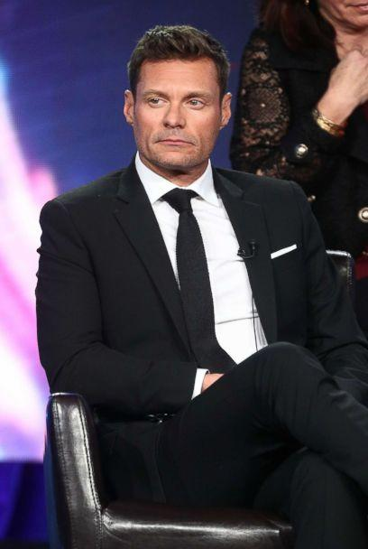 PHOTO: Ryan Seacrest speaks onstage during the ABC Television/Disney portion of the 2018 Winter Television Critics Association Press Tour at The Langham Huntington, Pasadena, Jan. 8, 2018 in Pasadena, California. (Frederick M. Brown/Getty Images)
