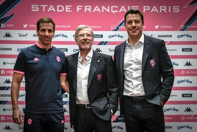 "Stade Francais coach Gonzalo Quesada said the club were launching a ""new cycle"" aiming for a place in the top six in the French league by 2022 (AFP Photo/STEPHANE DE SAKUTIN)"