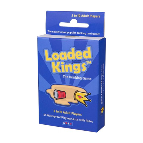 Loaded Kings Drinking Card Game