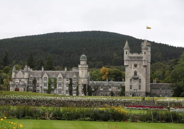 Audience at Balmoral Castle