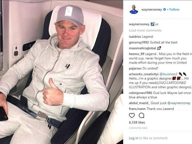 Wayne Rooney agrees transfer to DC United from Everton on three-and-a-half year contract
