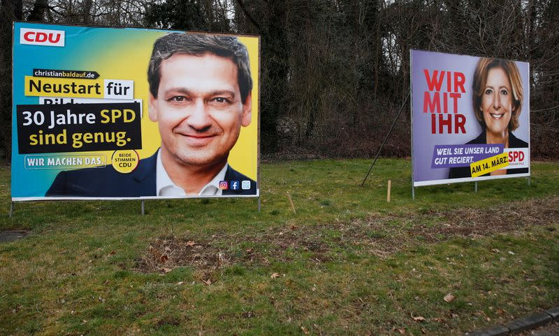 Campaigns for federal state elections in Neuwied