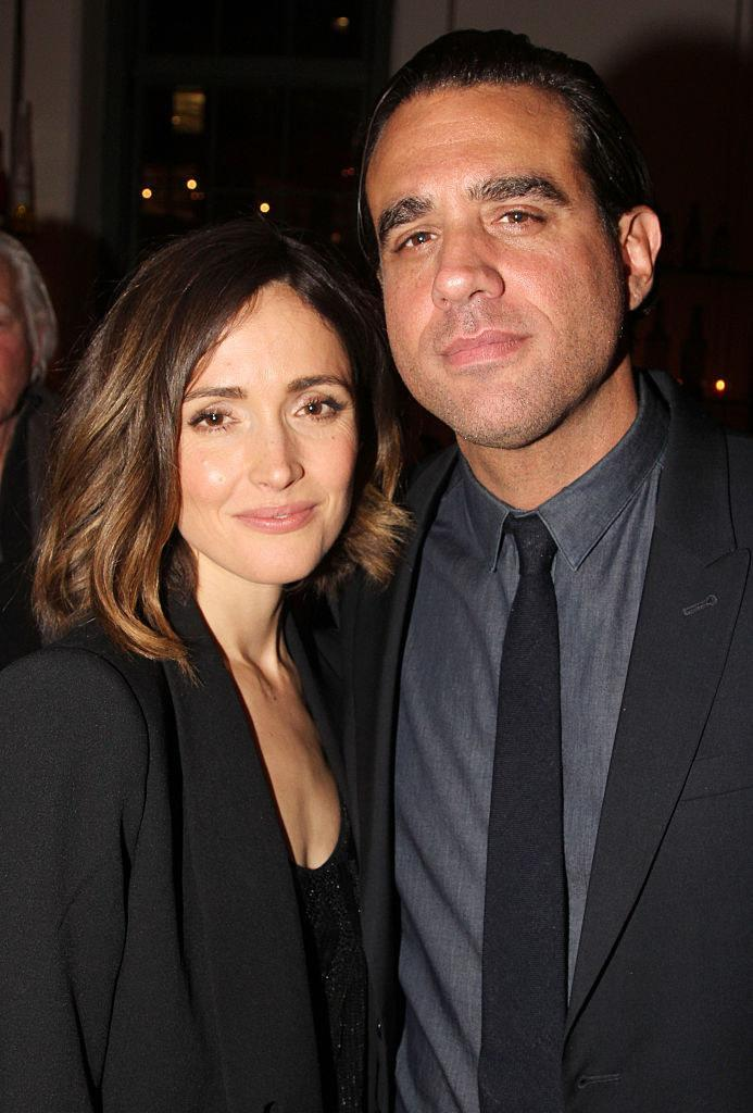 Rose Byrne and Bobby Cannavale pose at The 20th Annual New Group Theater Company Gala