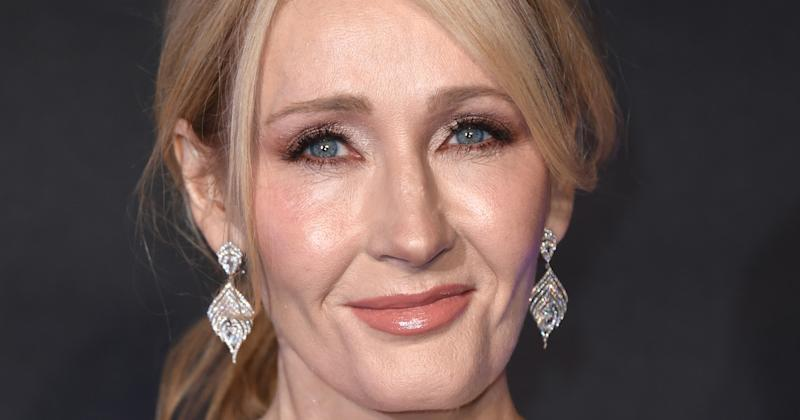 Rowling expressed her delight at seeing Piers being sworn at on television (Copyright: David Fisher/REX/Shutterstock)