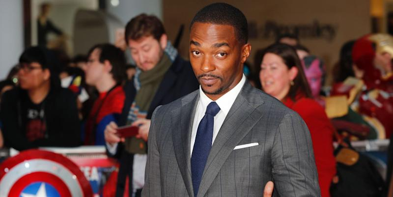 Anthony Mackie emailed Marvel to land Captain America and Avengers role