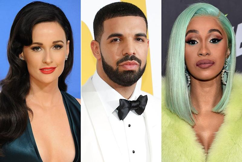Kasey Musgraves, Drake, and Cardi B