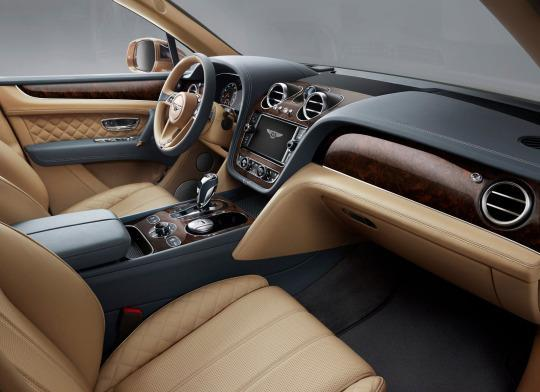 An Optional InCar Clock For The Bentley Bentayga Costs As Much As - In car