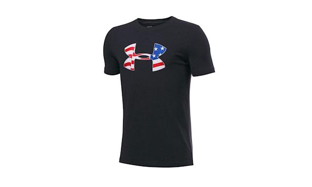 "<p>Under Armour is one of the biggest American athletic apparel, shoe, and accessory companies. It was founded in 1996 by 23-year old Kevin Plank. At first, he worked out of his grandmother's Washington D.C. basement when he created his first major breakthrough — the HeatGear T-shirt. Today, it is a multi-billion dollar company that manufactures most of its clothing outside the U.S. — in parts of Asia, South America, and Mexico. (Photo: <a href=""https://www.kohls.com/product/prd-2721959/boys-8-20-under-armour-american-logo-tee.jsp?color=Black%20White&prdPV=35"" rel=""nofollow noopener"" target=""_blank"" data-ylk=""slk:Under Armour/Kohl's"" class=""link rapid-noclick-resp"">Under Armour/Kohl's</a>) </p>"