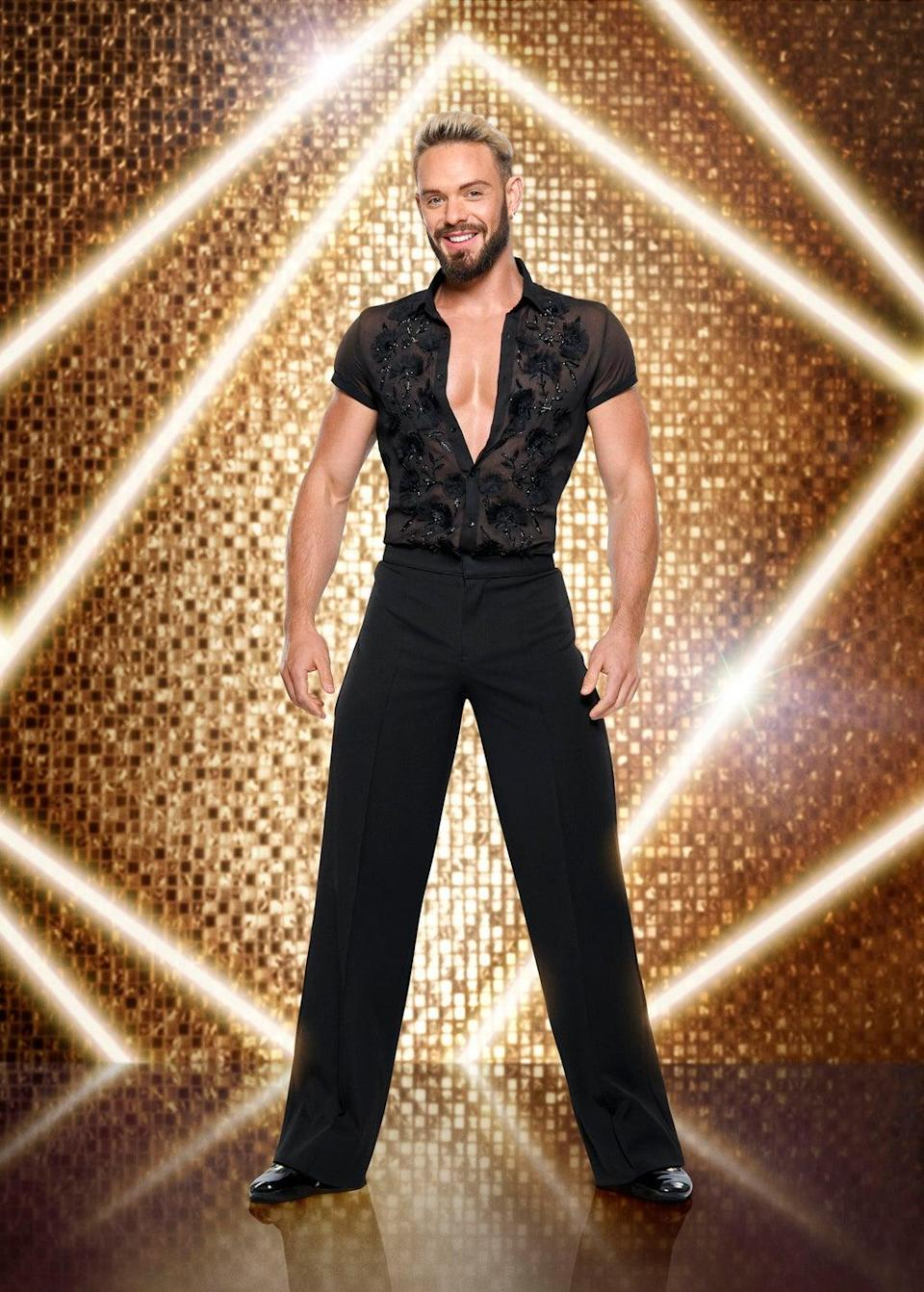 John Whaite will be paired up with a male dancer (BBC/Ray Burmiston)