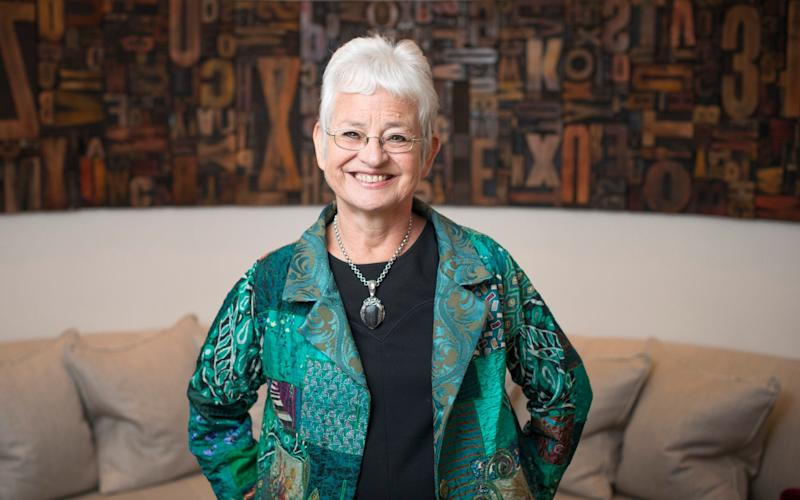 Dame Jacqueline Wilson says the idea of children having gender altering surgery is worrying - Geoff Pugh