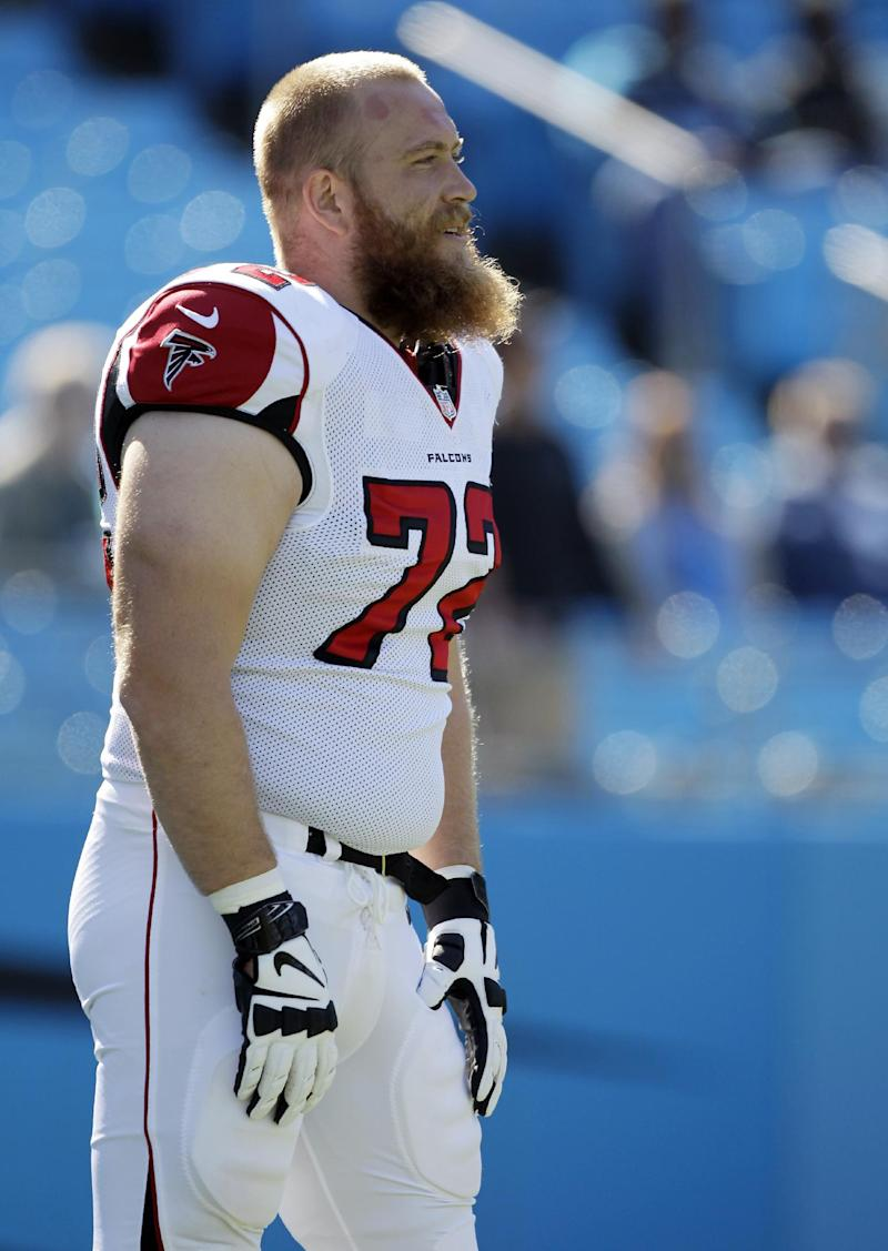 Continuity just a dream for Falcons' battered OL