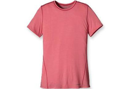 "<div class=""caption-credit""> Photo by: Rodale</div><div class=""caption-title""></div><b>Patagonia Women's Merino 1 Silkweight T-Shirt</b> ( $60, www.patagonia.com ) The lightest of Patagonia's Merino wool fabrics, Merino 1 Silkweight is made to keep you dry, cool, comfortable, and odor-free. Patagonia slow washes its Merino wool fabrics for softness and shrink resistance without the use of chlorine, then blends it with recycled polyester for durability and moisture transfer superior to that of 100% Merino. Perfect for hiking, this tee's seams are designed to lie smoothly beneath pack straps. <b> <a rel=""nofollow"" target=""_blank"" href=""http://www.prevention.com/health/healthy-living/7-eco-friendly-pet-products?cm_mmc=Yahoo_Blog-_-PVN_Shine-_-15%20Green%20Workout%20Looks-_-7%20Eco%20Friendly%20Pet%20Products"">7 Eco-Friendly Pet Products</a></b>"