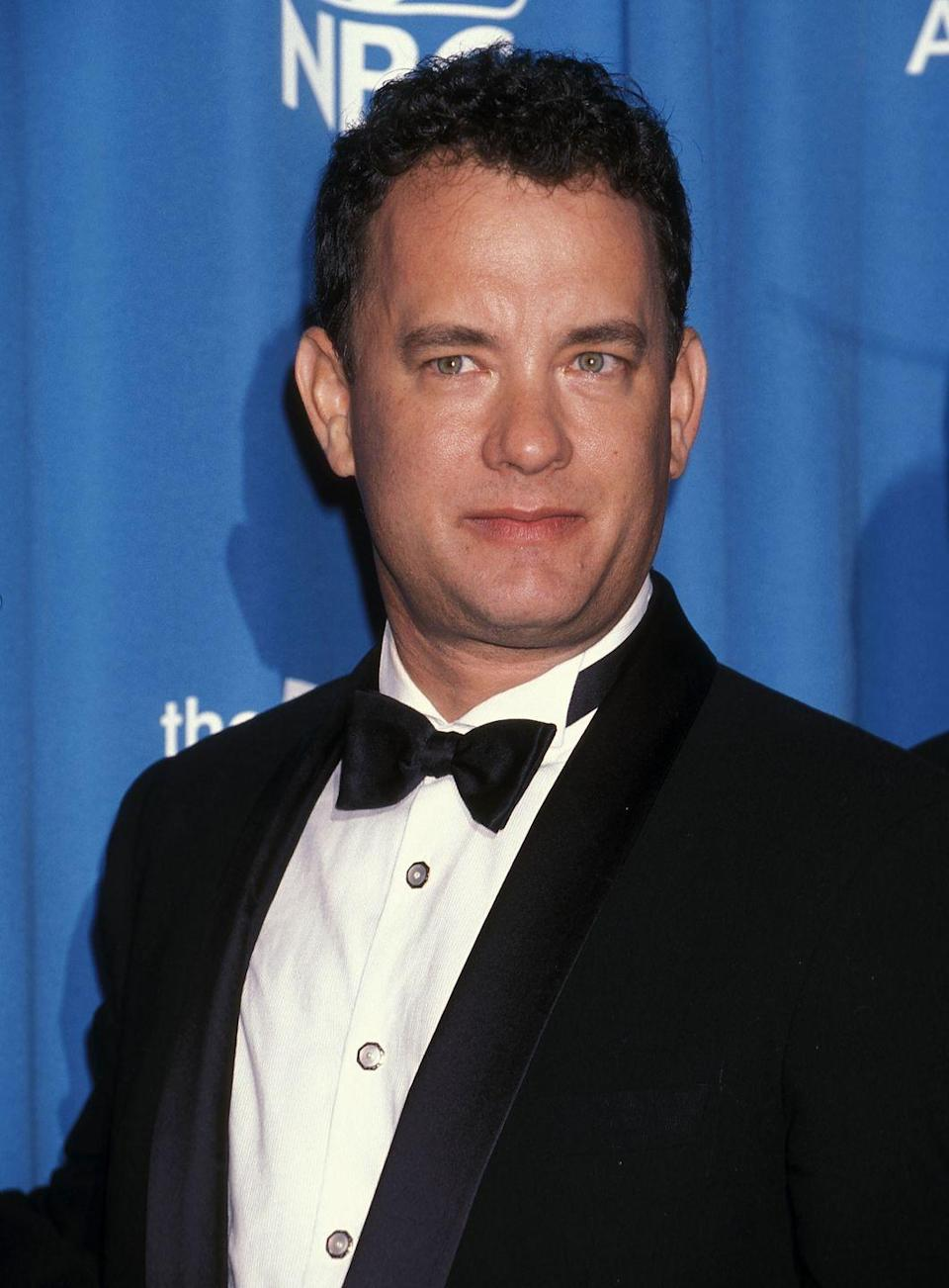 <p>Tom Hanks rose to fame in the early '80s and has since become one of the most versatile actors in Hollywood, pivoting from comedies like <em>Splash </em>to dramas like <em>Forrest Gump</em>. In 1998, Hanks not only got his handprint at the Chinese Theater in Hollywood, but he starred in <em>Saving Private Ryan.</em></p>