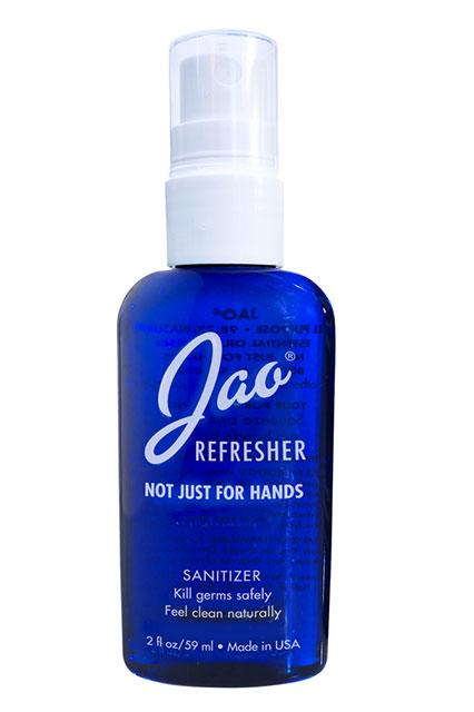 """Quite possibly the most versatile hand sanitizer we've ever tried, you can use it as a spot treatment, aftershave, or even as a quick underarm refresher. In a pinch, we've used this on a budding pimple and can attest to its zit-zapping abilities. <br> <br> <strong>Jao</strong> Hand Refresher, $, available at <a href=""""https://www.birchbox.com/men/jao-hand-refresher-2-oz"""" rel=""""nofollow noopener"""" target=""""_blank"""" data-ylk=""""slk:Birchbox"""" class=""""link rapid-noclick-resp"""">Birchbox</a>"""