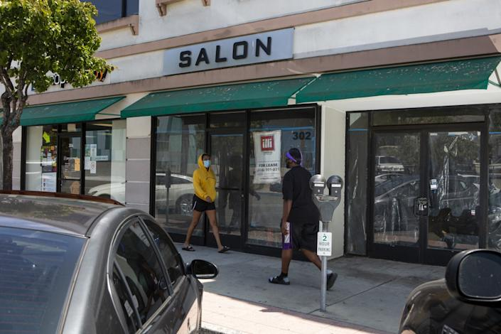 "The future site of the Salt Eaters Bookshop, which will open in 2021 after a successful GoFundMe campaign. <span class=""copyright"">(Gabriella Angotti-Jones / Los Angeles Times)</span>"