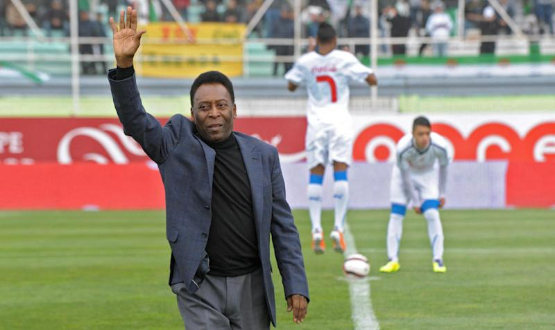 Pele says Neymar can handle World Cup pressure