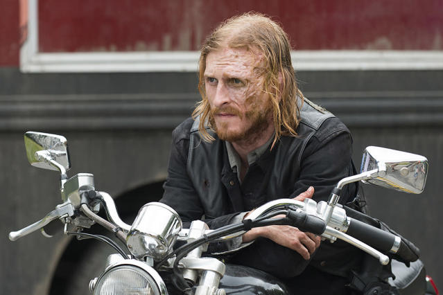 Austin Amelio as Dwight on AMC's ' <i>The Walking Dead'</i> (Photo: Gene Page/AMC)