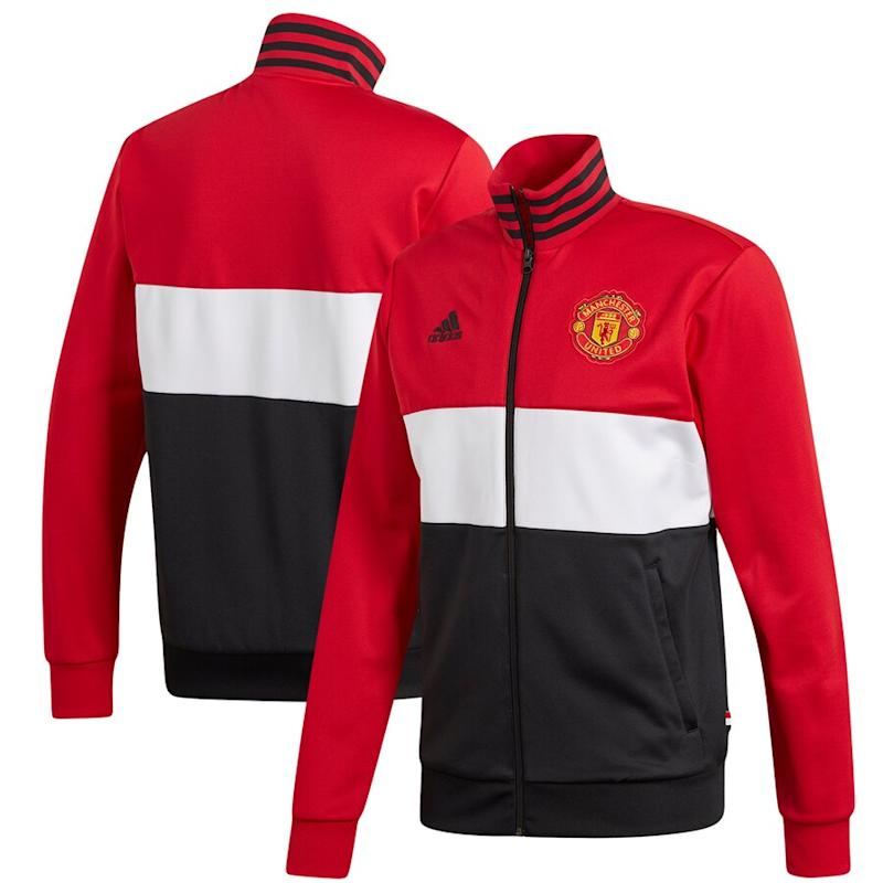 United 3-Stripe Full-Zip Track Jacket
