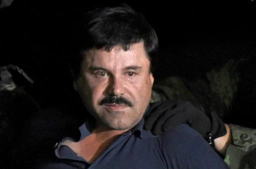 """Joaquin """"El Chapo"""" Guzman was convicted of flooding the US with cocaine and other drugs over the course of 25 years"""