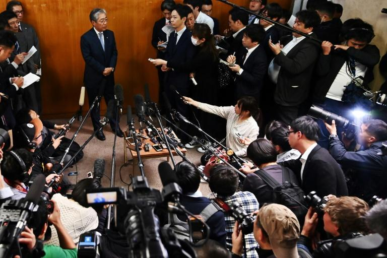 Japan's Olympic Committee president Tsunekazu Takeda stepped down after a probe into his involvement in payments made before Tokyo got the the Games