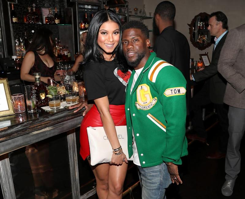 Kevin Hart and wife Eniko | Jerritt Clark/Getty