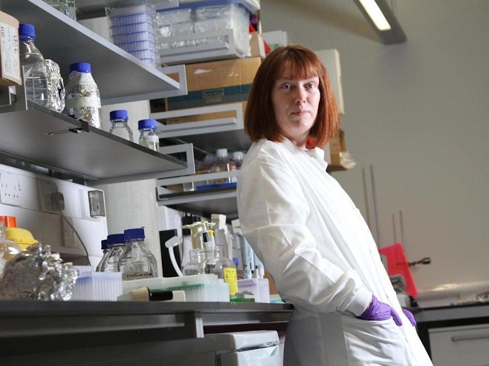 Sarah Gilbert, the professor behind the Oxford vaccine (University of Oxford)