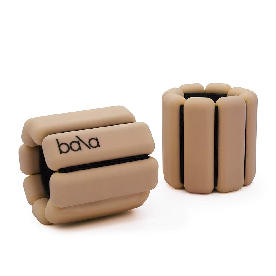 """<h2>Bala Bangles Wrist & Ankle Weights</h2><br>Step-up mom's daily power walk game with these sleek and highly-rated adjustable wrist and ankle weights. <br><br><strong>Rating: </strong>4.6 out of 5 stars, 1,665 reviews<br><br><strong>A Satisfied Customer Review:</strong> """"These weights are incredible – absolutely stunning! Such great quality too. I got them for walking and yoga but I think I am going to wear them everywhere! They are very comfy and soft to the touch. And I LOVE the packaging. They come with a free bag to carry them in. I am definitely going to buy more colors.""""<br><br><strong>Bala Bangles</strong> Adjustable Wearable Wrist & Ankle Weights, Set of 2, $, available at <a href=""""https://amzn.to/3ecZ4FO"""" rel=""""nofollow noopener"""" target=""""_blank"""" data-ylk=""""slk:Amazon"""" class=""""link rapid-noclick-resp"""">Amazon</a>"""