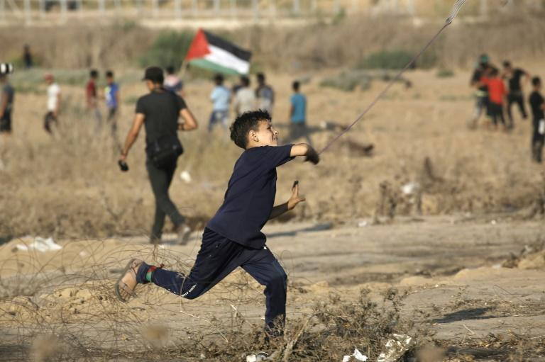 The Gaza-Israel border has been the scene of frequent clashes between Palestinian protesters and the Israeli army but violence had largely abated in recent weeks following an informal truce brokered by UN officials and Egypt