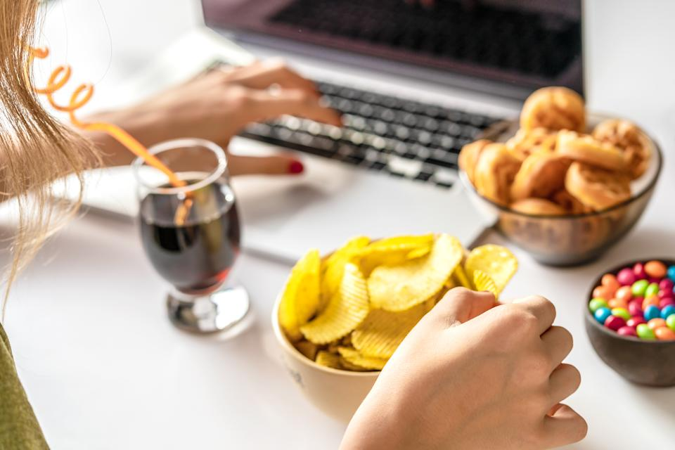 Children are exposed to over 15 billion adverts for unhealthy food online every year. Photo: Getty Images