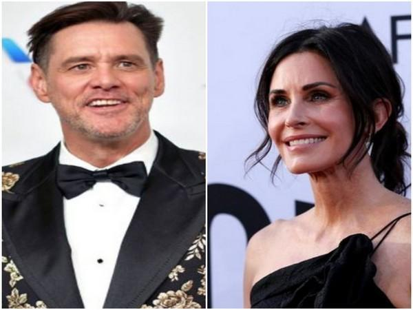 Jim Carrey and Courteney Cox