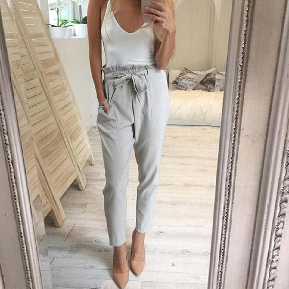 <p>You can mix and match these <span>Cutecc High Waist Pants Trousers</span> ($16) with all your favorite tops. </p>