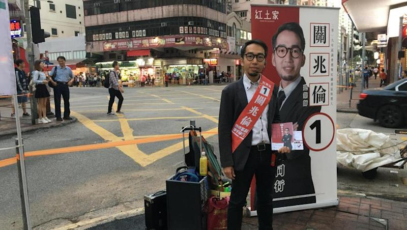 Hong Kong votes after months of violent chaos