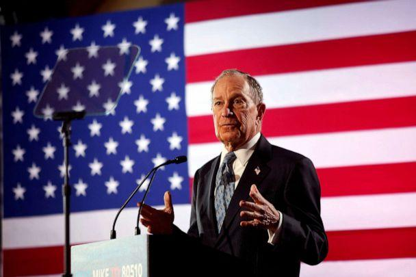 FILE PHOTO: Democratic presidential candidate Michael Bloomberg speaks during a campaign event at the Bessie Smith Cultural Center in Chattanooga, Tennessee, U.S. February 12, 2020. (Douglas Strickland/Reuters)